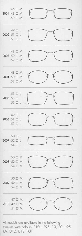 Rimless Glasses Shapes : Air Titanium, Lindberg Eyewear, Spirit, Spectech in Santa ...